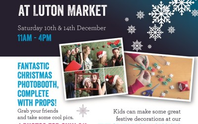 Christmas at Luton Market