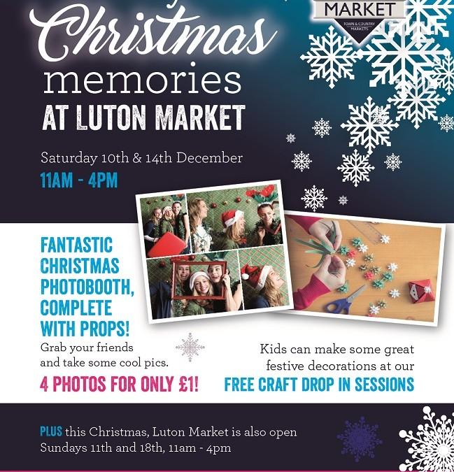 Christmas at Luton Market